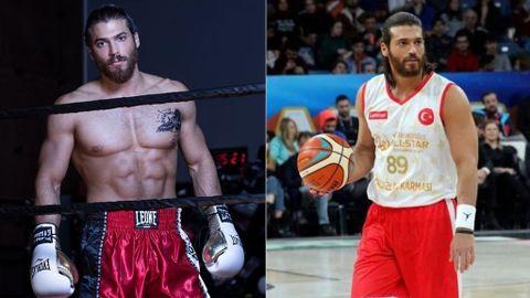 Can yaman y el deporte, baloncesto y boxeo
