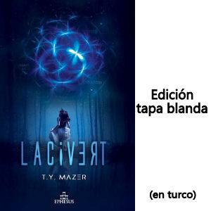 Libro Lacivert Can Yaman en turco edición tapa blanda