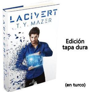 Libro Lacivert Can Yaman en turco edición tapa dura