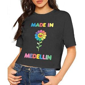 Camiseta Made in Medellin para mujer