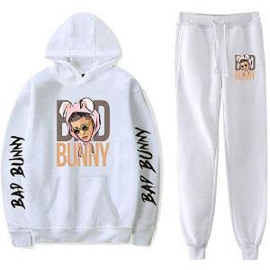 Chandal Bad Bunny blanco