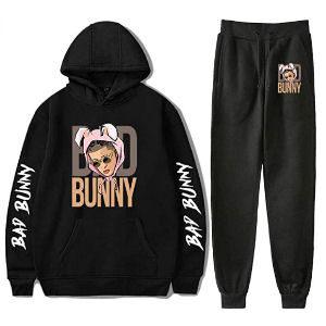 Chandal Bad Bunny negro