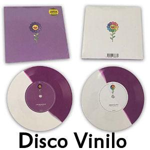Disco j balvin vinilo morado y blanco edición limitada