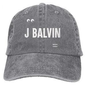Gorra J Balvin gris