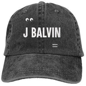 Gorra J Balvin negra