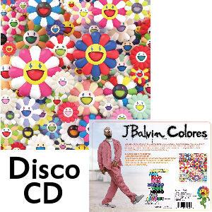J Balvin disco colores en cd