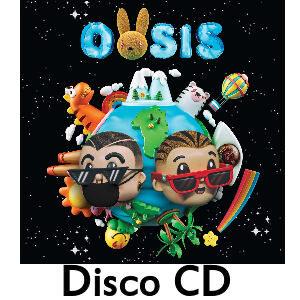 disco j balvin oasis en cd